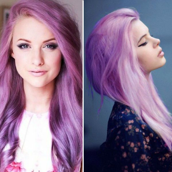 Top 20 Choices To Dye Your Hair Purple And Nail Ideas Pinterest Ombre