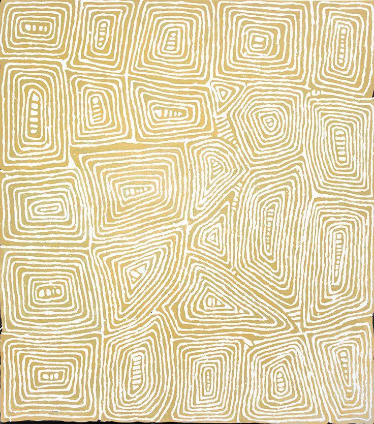 Johnny Yungut Tjupurrula - Water site of Tjungimanta - Tingari ancestral stories http://www.aboriginalsignature.com/art-aborigene-papunya-tula/johnny-yungut-tjupurrula-water-site-of-tjungimanta-tingari-ancestral-stories