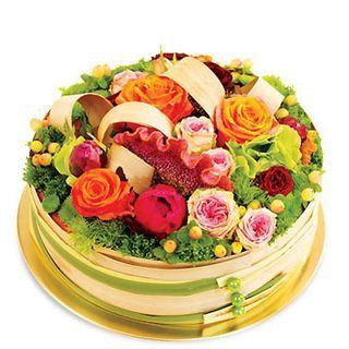 gateau floral...love it!
