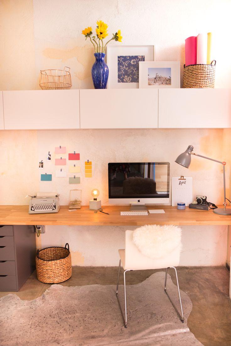 1000 ideas about butcher block desk on pinterest ikea
