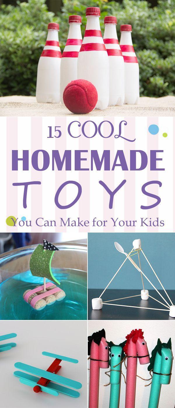 15 coole hausgemachte Spielsachen, die Sie für Ih…