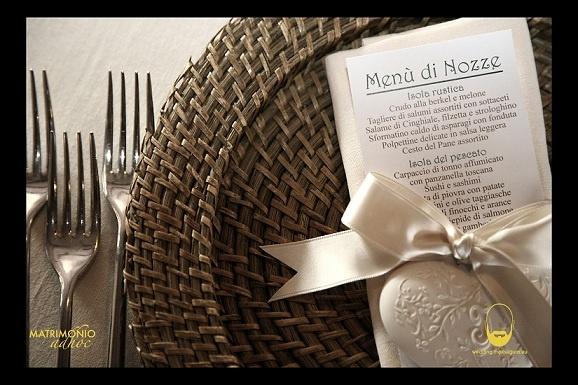 particolari: menù...