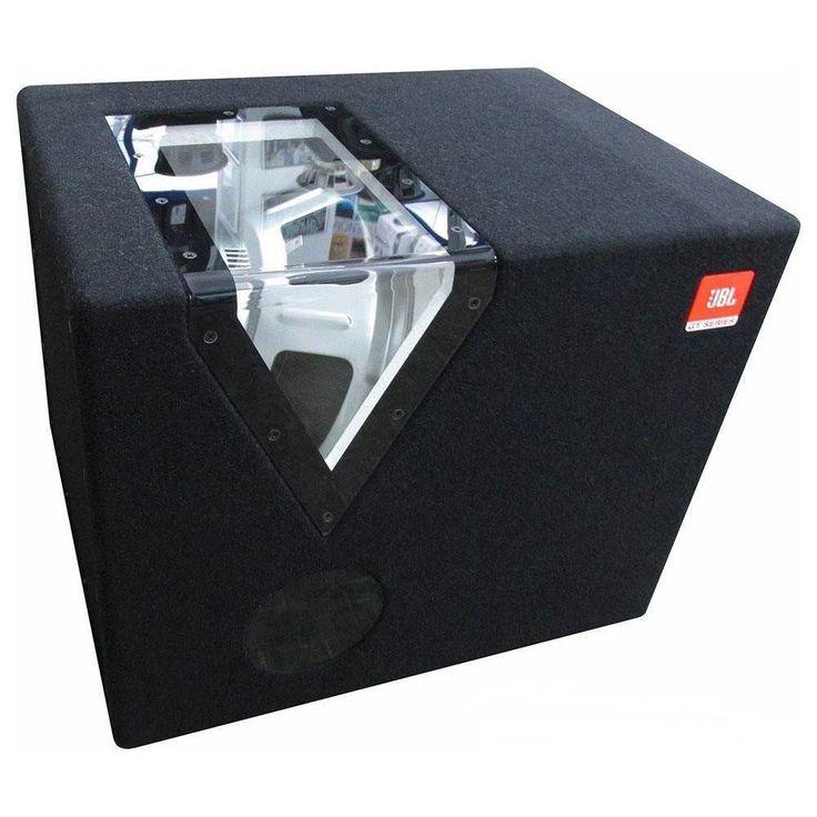 """JBL - GT Series 12"""" 300W Passive Subwoofer - Matt black"""