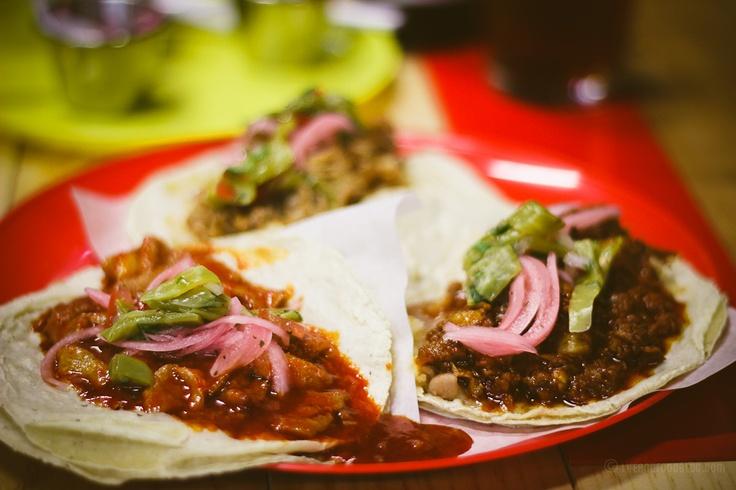 Tacos de Guisado//Via Mercado | Tijuana | Pinterest