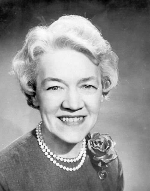 """Margaret Chase Smith, born in 1897. Her election to both the House and Senate by 1948 was a first for a woman, and her congressiolnal experience laid the groundwork for her presidential campaign in 1964. She spoke out against the McCarthy's """"hunt"""" for communists, created female units in the Navy, Coast Guard, and Army, and supported space travel. James Webb, director of NASA at the time, said """"If it were not for a woman, Margaret Chase Smith, we never would have placed a man on the moon."""""""