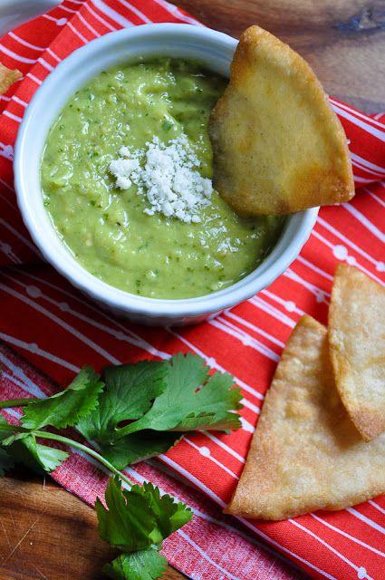 houston-style green salsa.