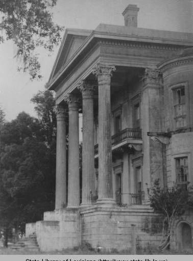 Belle Grove Plantation near White Castle Louisiana circa 1940 :: Louisiana Works Progress Administration (WPA)