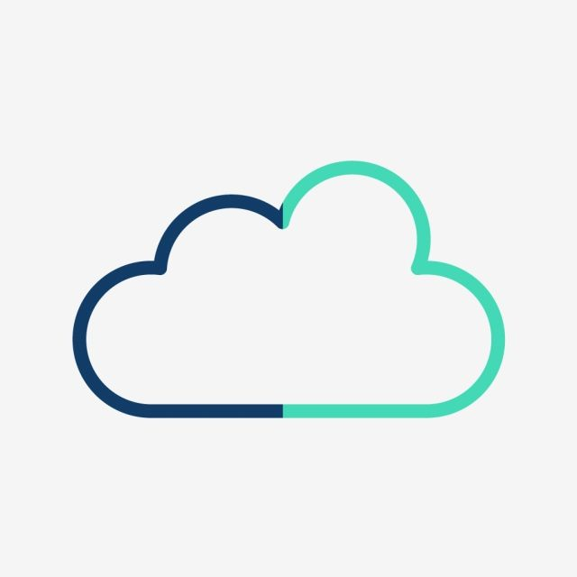 Cloud Vector Icon With Transparent Background Vector And Png In 2020 Cloud Vector Cloud Icon Transparent Background