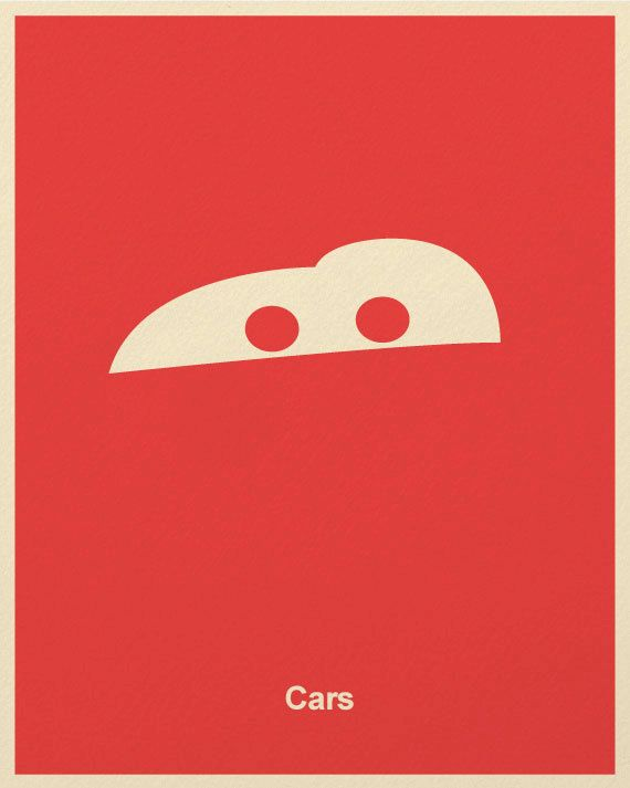 Pixar Minimalist Posters by Marcus
