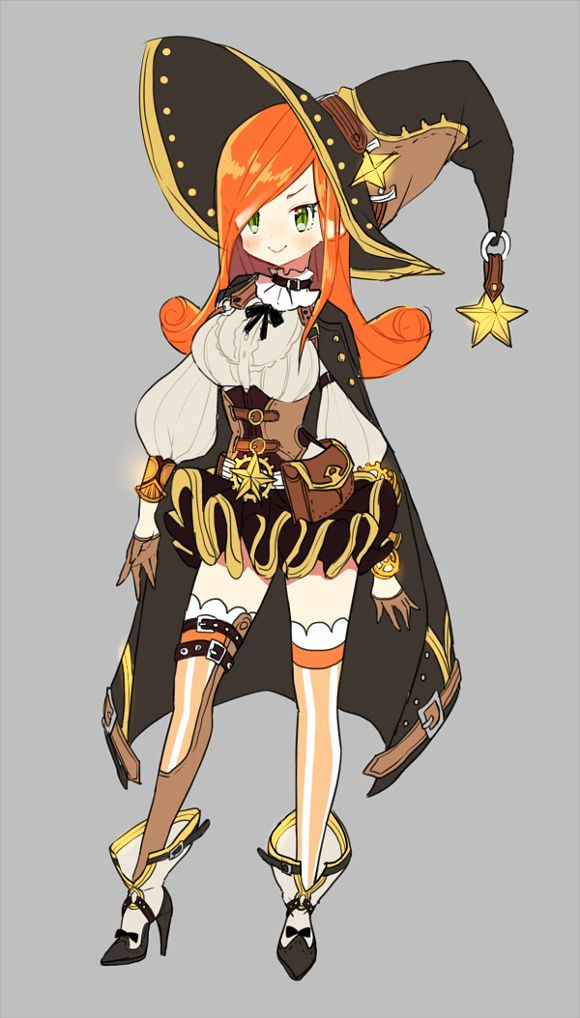 Character Design Monthly : Best images about character design magic girls on