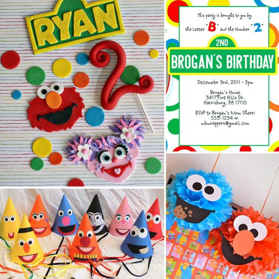 I love the party hats!: Street Party, Birthdayparty, Street Birthday, Birthday Parties, Birthdays, Sesame Streets, Birthday Party Ideas, Party Theme, Birthday Ideas
