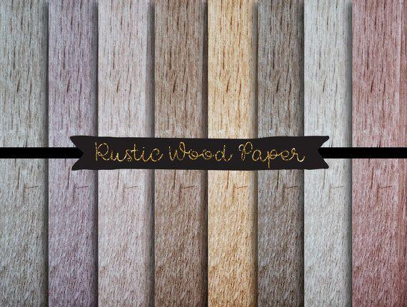 wood digital paper, old wood digital pattern, barn wood autumn rustic paper, woodland rustic paper, textured digital download, brown