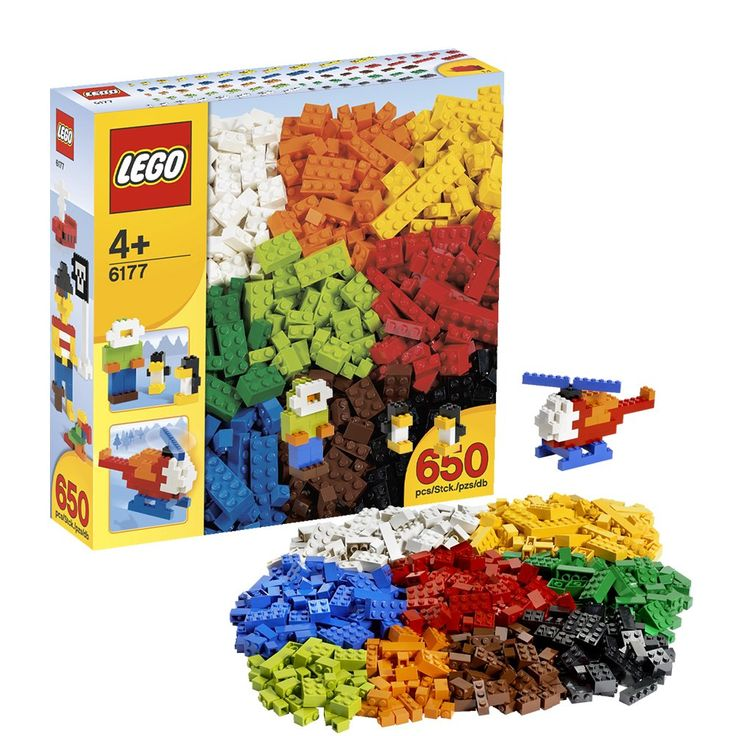 The more Lego the better :-) (KB)