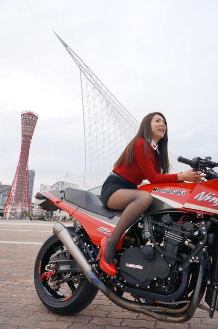 Kawasaki GPz900R  Chiharu mizuno