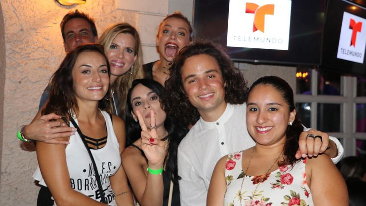 Grupo completo Silvana sin lana, Carlos Ponce, Maritza Rodríguez, Marimar Vega