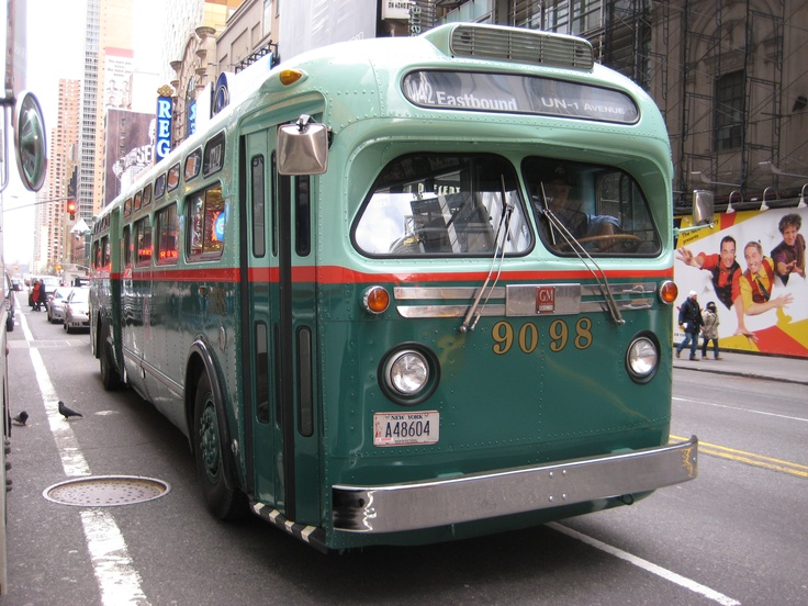 228 Best Images About NEW YORK CITY BUSES AND TROLLEYS On