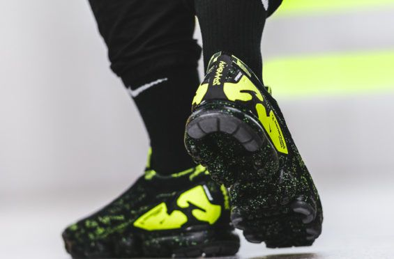 5a9d5fe6bf2 The ACRONYM x Nike Air VaporMax Moc 2 Black Volt Drops In A Couple Days •