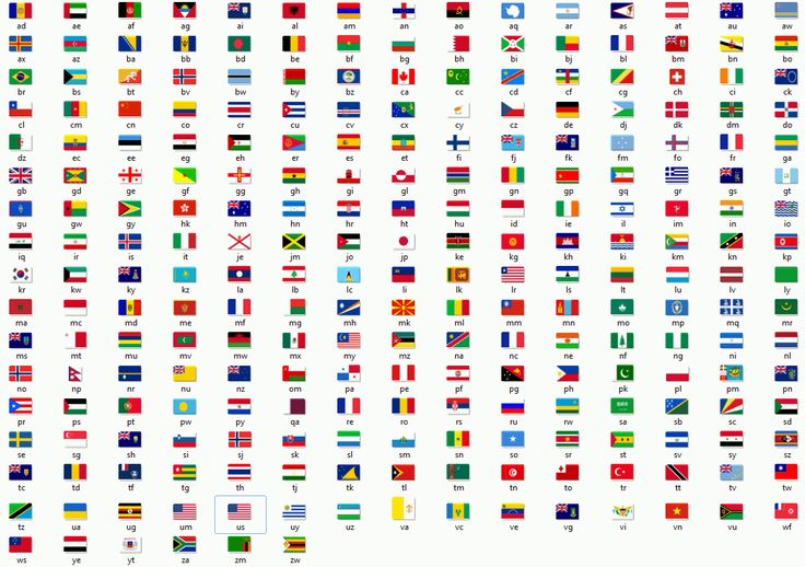 It's interesting to see flags of the world presented as a 'Periodic Table'. In reality, nations are compounds, rather than base elements.