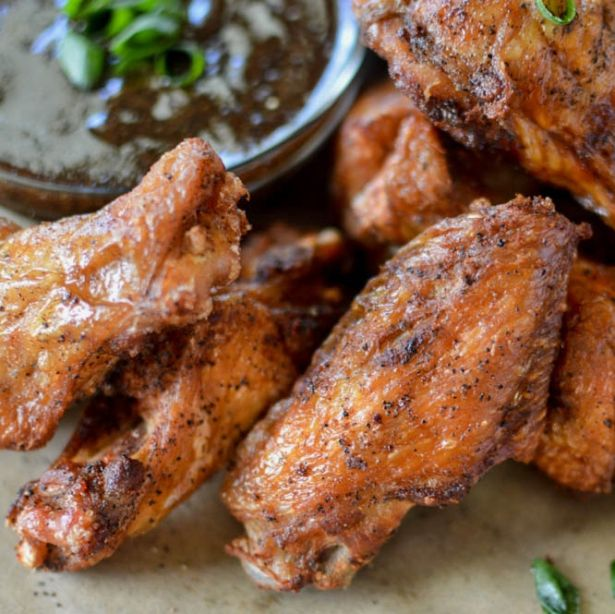 Crispy Chinese Black Pepper Chicken Wings - Savory Spicerack