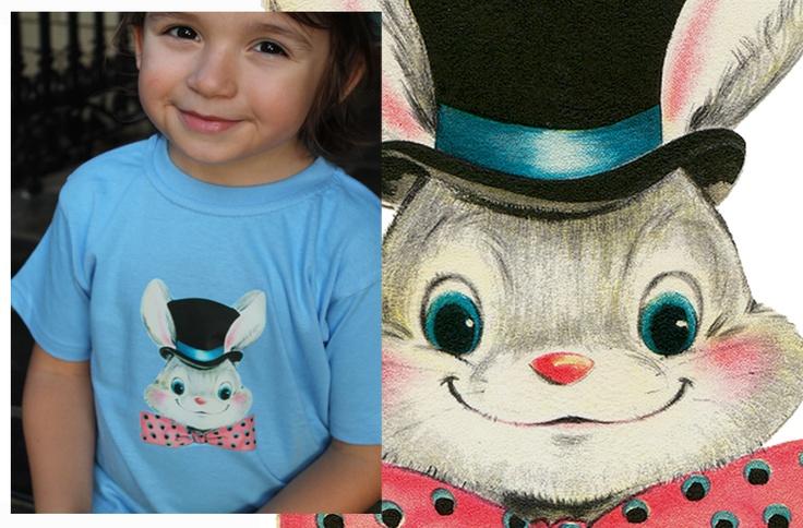Top Hat Bunny, Easter Tee  http://www.madeit.com.au/storecatalog.asp?userid=38690