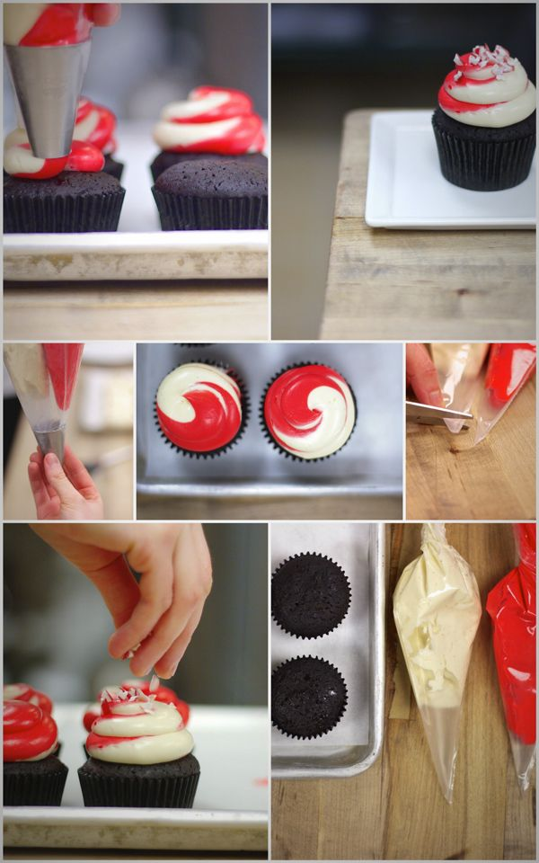 Cupcake Decorating Ideas Step By Step : Impress your guests with this festively frosted treat ...