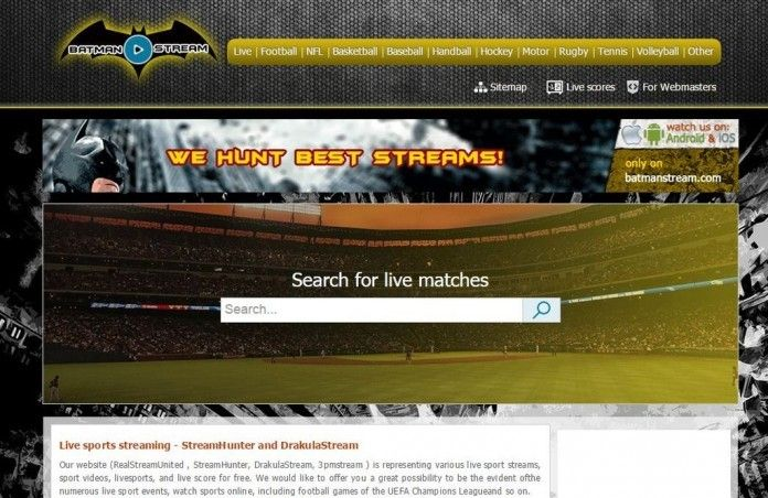 Best Sports Streaming Site Fun Sports Sports Streaming Sites