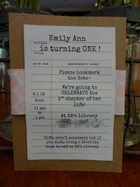 Best 25 Book birthday parties ideas – Book Party Invitation