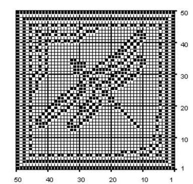Dragonfly Filet #Crochet Chart Free Pattern