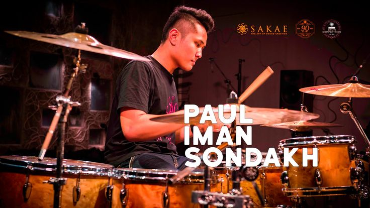 #SakaeDrumCompetition2015 #Final Paul Iman Sondakh - Chary Life by Anika...