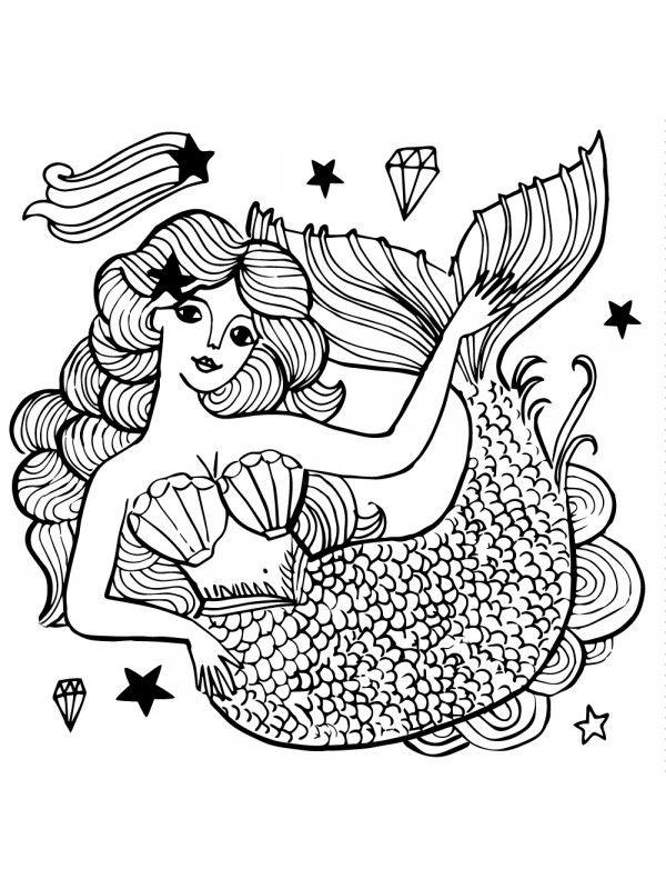 Mermaid ボディーシール