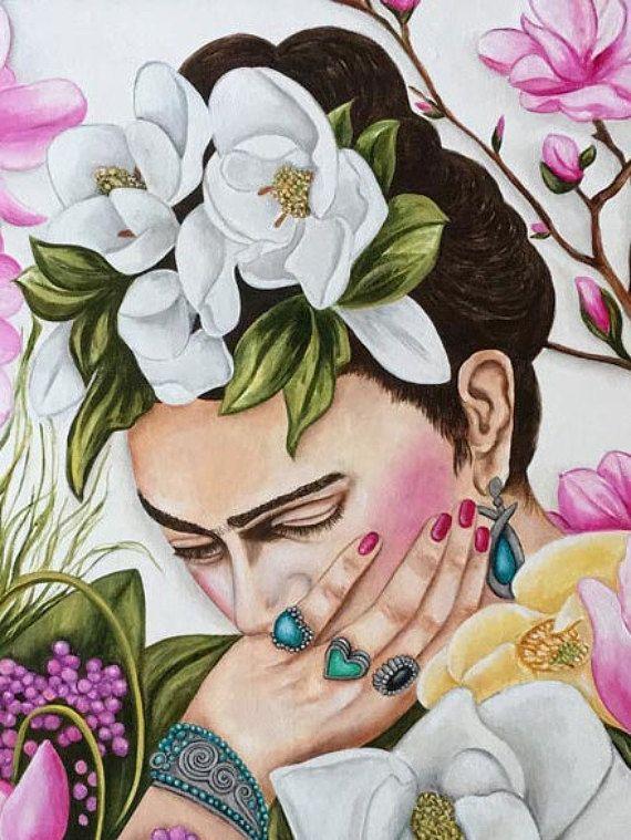 Impresión Frida Kahlo Frida Kahlo Art Print Frida Frida