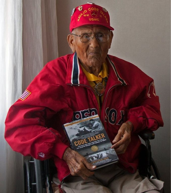 8 best important documents and newspaper headlines of world war two chester nez the last of the 29 navajo code talkers during wwii has passed away rest in peace fandeluxe Image collections