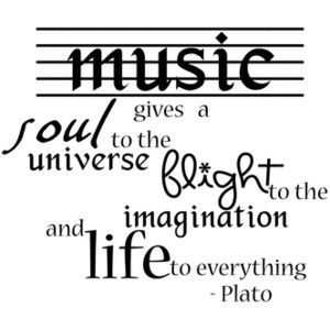 Plato on Music--would like to see this done up as a tat