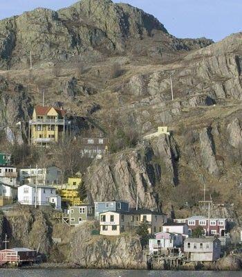 Signal Hill Newfoundland Canada Winter | newfoundland canada