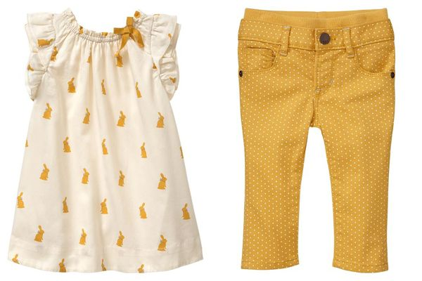 Baby Gap Beatrix Potter baby clothes range