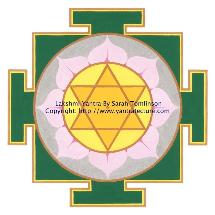 lakshmi yantra by sarah tomlinson