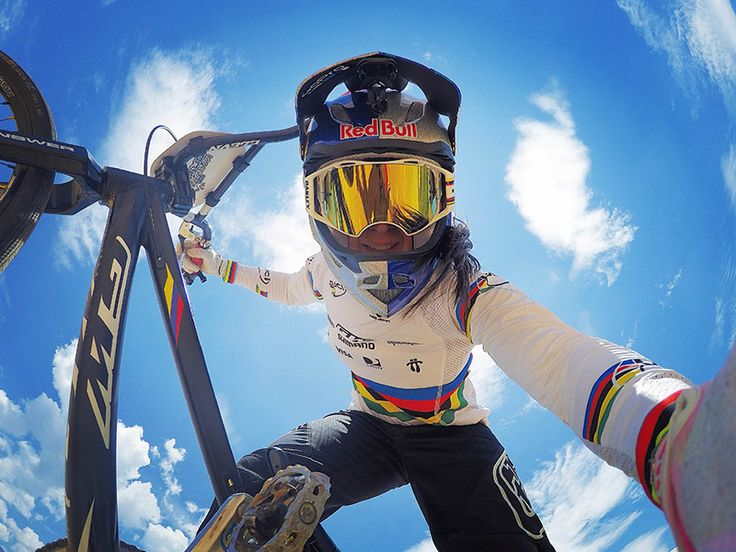 We are thankful for the newest addition to the GoPro Athlete Fam, superstar BMX rider Mariana Pajón. #GoPro