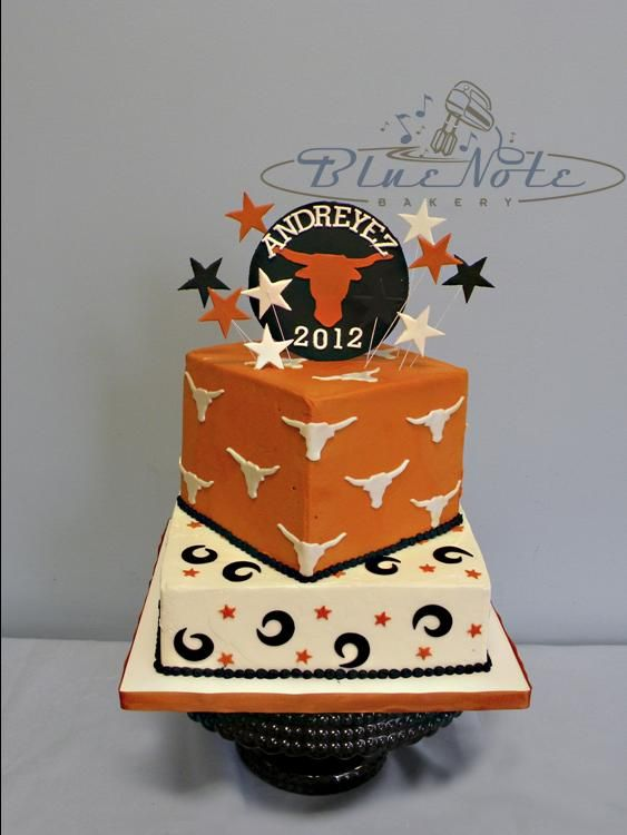 University of Texas Longhorn Graduation | Blue Note Bakery - Austin, Texas