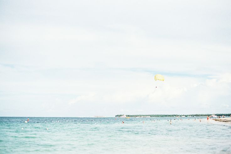Parasailing in the Dominican Republic. Photography by Heidi Lau.
