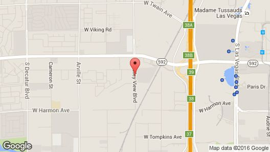 Extended Stay America - Las Vegas - Valley View Map