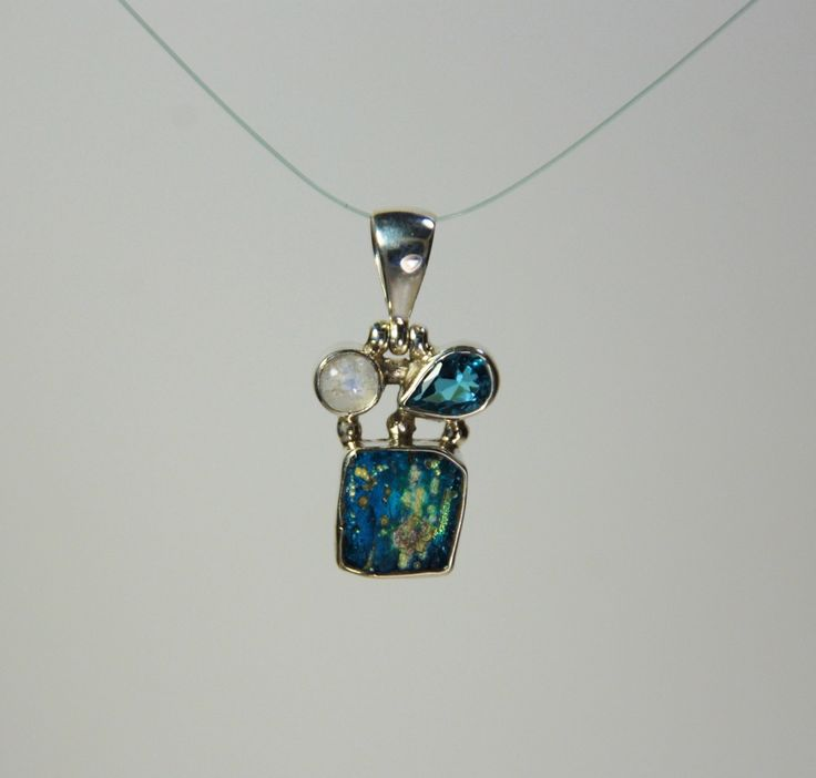 Vamos Azul! by SilverLiningJewelers on Etsy