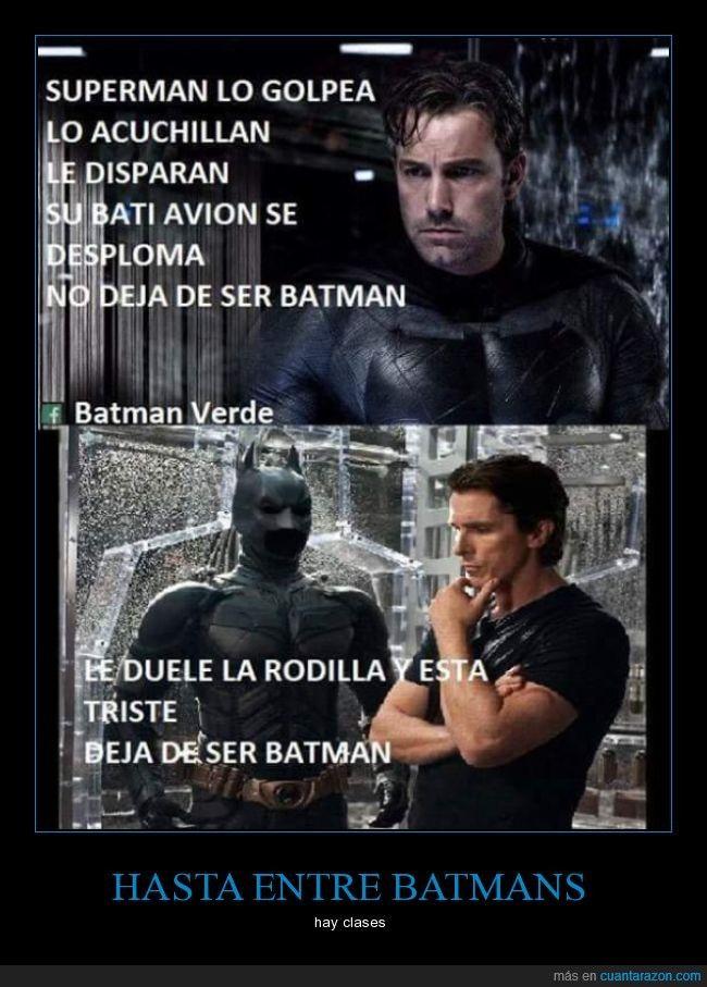 ¿Qué os pareció la película de Batman vs. Superman? - hay clases