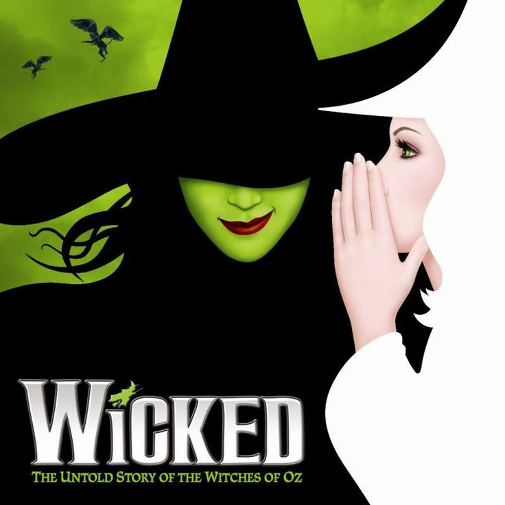 Wicked The Untold Story of the Witches of OZ 3 x 3 Magnet