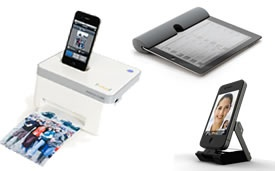 Very cool and web friendly iPhone and iPad gadgets for people who love to travel.