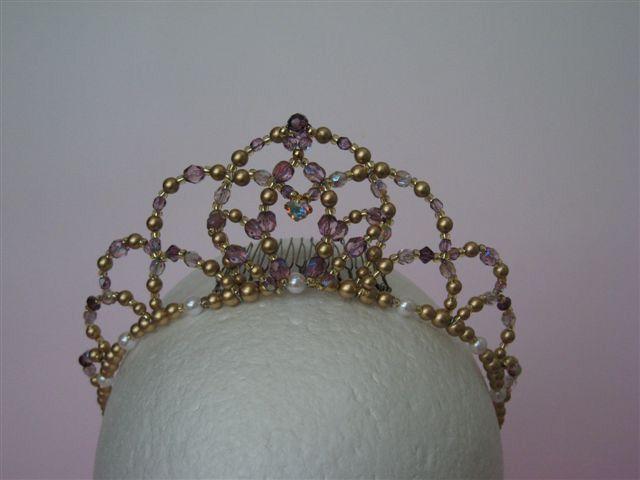 Japanese beaded tiara