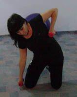 Упражнения для талии - упражнения, с, гантелями, похудеть,