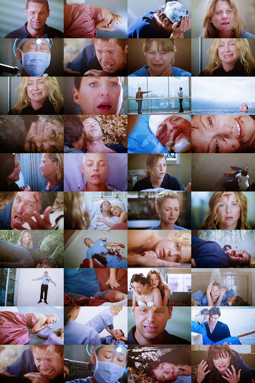 Grey's Anatomy - It will make and break your heart......When you watch greys anatomy you have a lot emotional memories  ;)
