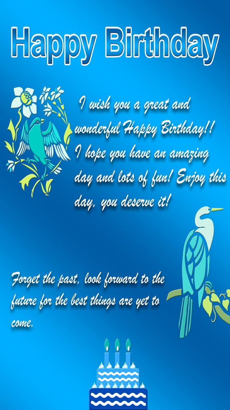 7088 Best Wishing You A Hbd Images On Pinterest Happy