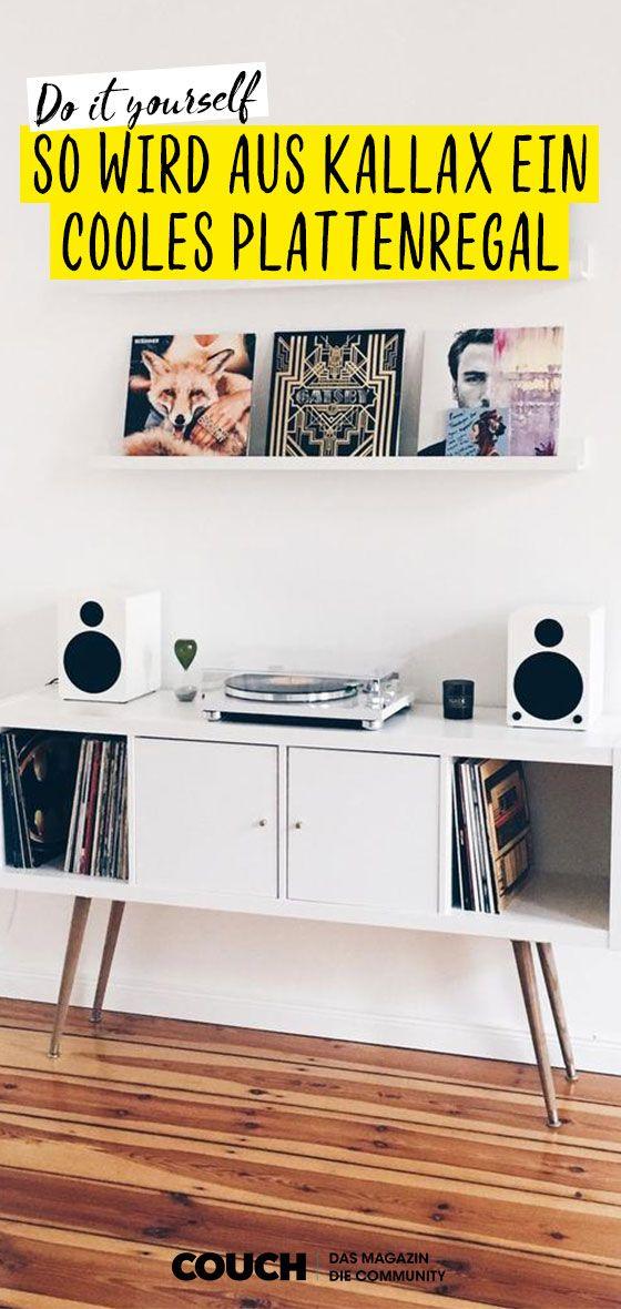 Neues Zuhause für deine Plattensammlung