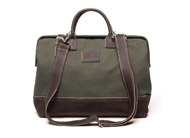 Apolis Heritage Leather + Apolis Mason Courier Bag